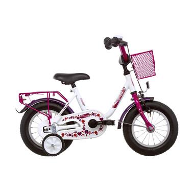 "Vélo Enfant VERMONT GIRLY 12"" Blanc/Rose 2019"